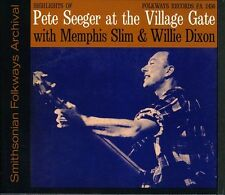 Pete Seeger - Village Gate with Memphis Slim and Willie Dixon [New CD]