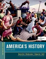 America's History by Rebecca Edwards, James A. Henretta, Eric Hinderaker and Ro…