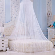 Girls Bedroom Round Lace Bed Canopy Mosquito Net Curtain Dome Princess Canopy AU & Bed Netting u0026 Canopies | eBay