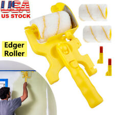 Clean-Cut Paint Edger Roller Brush Safe Tool for Home Room Wall Ceiling US Stock
