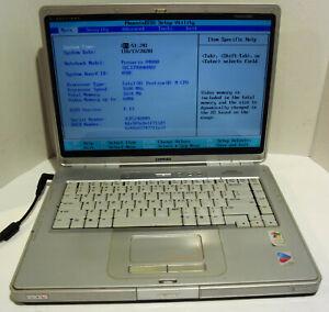 Compaq Presario V4135US 15.4'' Notebook (Intel Pentium M 1.6GHz 1GB NO HDD)