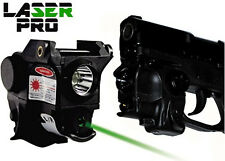 Green Laser & Led Light for Pistols w/Rails like Taurus G2 G2c G2s G3 G3c & more