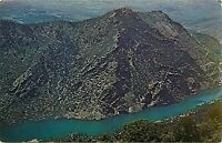 Chrome Postcard CO H096 1976 Cancel Morrow Point Dam Cimarron Gunnison River