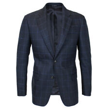 Emporio Armani - G Line Navy Check Blazer - 48/UK38 - *NEW WITH TAGS* RRP £495