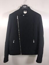 Gianni Versace Versus Quilted Bomber Jacket Black NWT Size 48