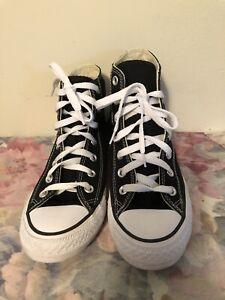 Converse All Star Chuck Taylor Black High Top SneakersMen Sz 5.5 Women Sz 7.5