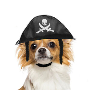 Halloween Costumes for Pet Cats Dogs Puppy Props Pirate Hat Decoration