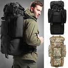 80L Outdoor Waterproof Travel Hiking Camping Luggage Backpack Internal Frame Bag