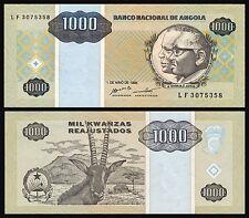Angola  1000 Kwanzas  1-5-1995  Pick 135   SC = UNC