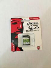 Original Genuine Kingston  Canvas Select  32GB  SD SDHC Flash Memory  Card