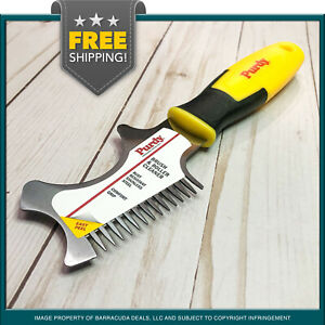 Purdy Contractor Brush & Roller Cleaner - Rust Resistant Stainless Steel Blade!