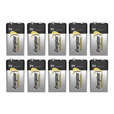 10 X Energizer 9V Piles Industriel 6LR61 Bloc PP3 6LP3146 MN1604