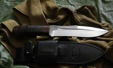 "Super Rare Tactical Spetsnaz Army Combat knife ""SCORPION"" Leather Handle"