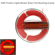 1PCS Round Red LED Trailer Lights Tail Brake Stop Turn Parking Light for Boat RV