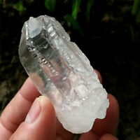 61g Clear Etched Himalaya Nirvana Quartz Natural Interference Crystal Specimen