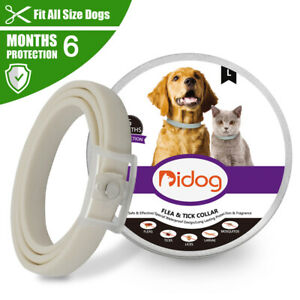 Flea and Tick Collar for Dogs Cats 6 Month Treatment Protection Insect Killer