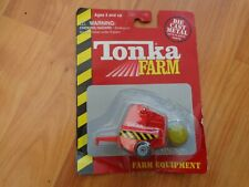 TONKA MINI FARM EQUIPMENT - ROUND BALER DIECAST FARM VEHICLE BOXED