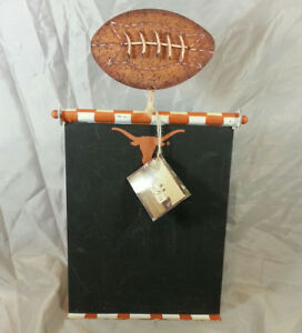 UT Longhorns Football Chalkboard by Round Top Chalkboard Original Tag Retail $39