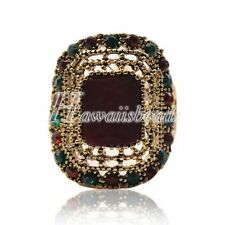 Unbranded Rhinestone Alloy 18k Fashion Rings