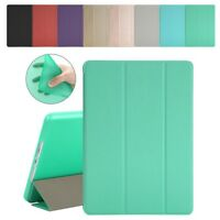 TPU Case for Apple iPad with Magnetic Leather Ultra Slim Trifold Smart Cover