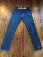 Mens Next 'Slim' Jeans - W32 L34 - Dark Navy Wash - Great Condition