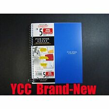 Mead Five Star Spiral Notebook 5 Subject200 Sheetwide Ruled105 X 8 Insky