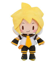 "NEW Sega Hatsune Miku Vocaloid Vol 2 Soft Plush Doll - 6"" Standing Kagamine Len"