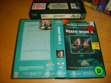 Vhs *DEATH WISH 3 (1985)* MGM/UA Charles Bronson Collection - Sell through Issue