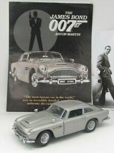 *JAMES BOND 007 ASTON MARTIN DB5 by Danbury Mint - Pristine mint with extras +