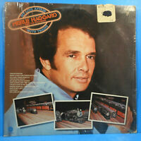 MERLE HAGGARD MY LOVE AFFAIR WITH TRAINS 1976 SHRINK GREAT CONDITION! VG+/VG+!!