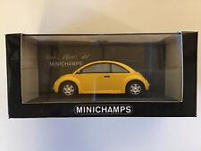Paul's Model Art Minichamps VW Concept Car (Beetle) 1994 Yellow 1:43