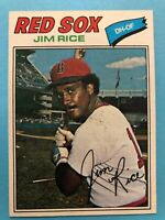 1977 Topps Baseball Card #60 Jim Rice Boston Red Sox