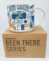 Starbucks Mug Been There Series Collectible North Carolina NC Color 14 Oz NEW