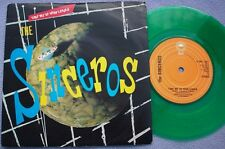 SINCEROS Take Me To Your Leader UK GREEN VINYL Picture Sleeve NEW WAVE