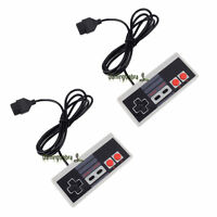 2x Controller Gamepad Joystick For Nintendo NES System Console Control Pad