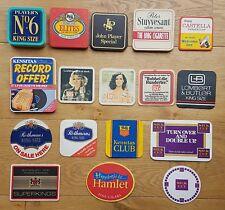 Cigarette & cigar advertising beer mats