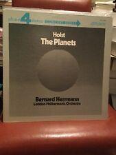 HOLST THE PLANETS * CONCERT SERIES* BERNARD HERRMAN LP * GATEFOLD