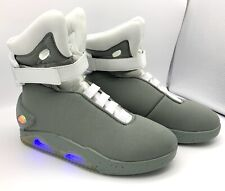 Back to the Future II Universal Licenses Light Up Shoes Halloween Size 10