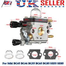 More details for leaf blower carb carburetor for stihl bg45 bg46 bg55 bg65 bg85 sh85 42291200606