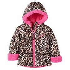 Clothing, Shoes & Accessories Size 3t Brown Fuzzy Leopard Print Zip Up Jacket By Girls Rule! Outerwear