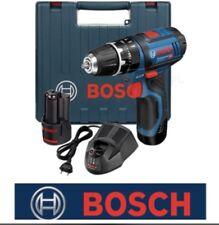 Bosch 12v GSB12V-15 Lithium GSB Combi Hammer Drill 2 Speed + 2 x 2.0 Batteries