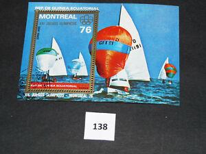 Motive,auf,Briefmarken, Olympia 1976 Montreal, Rep.de Guinea Ecuatorial (138)