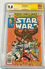 Han Solo Star Wars #14 CGC 9.8 Signed Harrison Ford Signature Series Comic