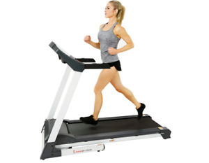 Sunny Health & Fitness SF-T7515 Smart Treadmill with Auto Incline, Speakers