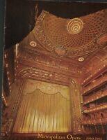 Metropolitan Opera 1960-61 Season Program Madama Butterfly