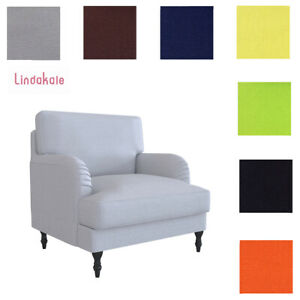 Custom Made Cover Fits IKEA Stocksund Armchair, Replace Stocksund Chair Cover