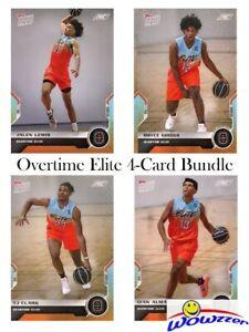 2021 Topps Now OVERTIME ELITE Basketball 4 Card ROOKIE Bundle Set (1,2,3,4) MINT