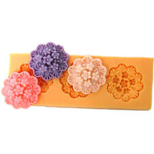 DIY Daisy Flower Resin,Clay Crafts Molds Silicone Fondant Cake Decoration Moulds
