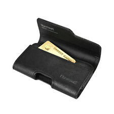 Leather Case Pouch Holster for Samsung Galaxy S5 S6 S7 w/ Card Holder