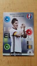 Panini Adrenalyn XL EM Euro 2016 Limited Edition Card Schweinsteiger Classic